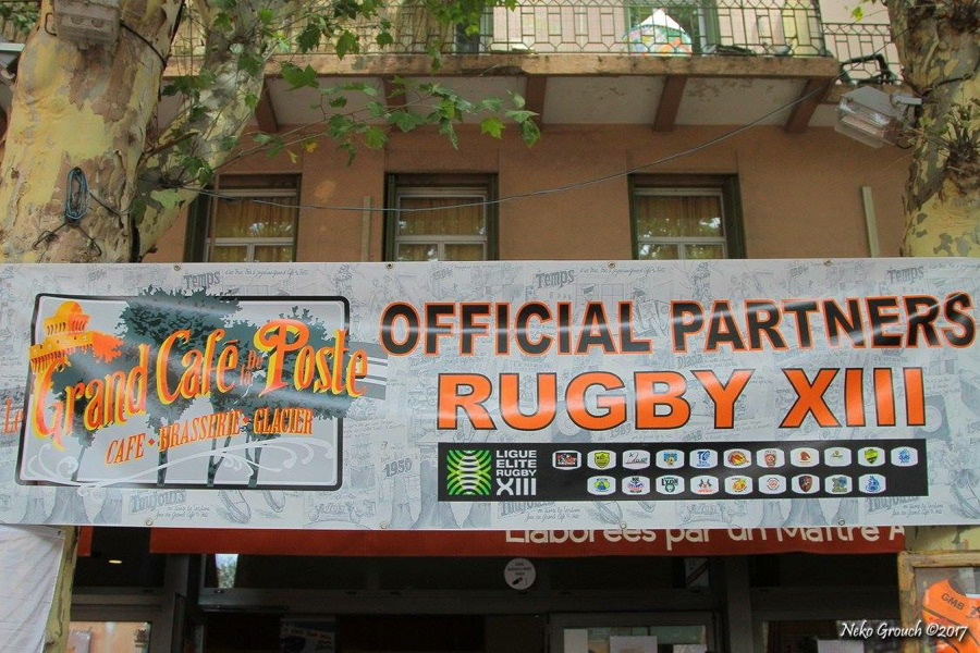 photo ambiance rugby le grand cafe de la poste perpignan